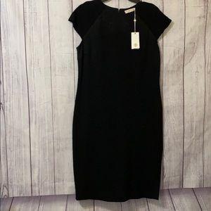 Tory Burch Kiersten black size XLarge dress NWT